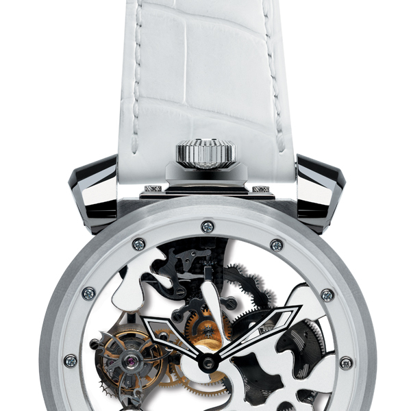 Quirky Tourbillon White